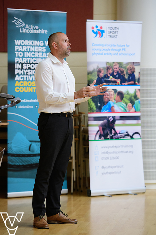 Active Lincolnshire's Primary School PE Conference held at Bishop Grosseteste University, Lincoln.<br /> <br /> Picture: Chris Vaughan Photography for Active Lincolnshire<br /> Date: June 8, 2018