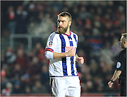 Rickie Lambert during the The FA Cup Third Round Replay match between Bristol City and West Bromwich Albion at Ashton Gate, Bristol, England on 19 January 2016. Photo by Daniel Youngs.