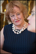 LADY ROSIE WEST, Nicky Haslam hosts a party to launch a book by  Maureen Footer 'George Stacey and the Creation of American Chic' . With a foreword by Mario Buatta. Kensington. London. 11 June 2014