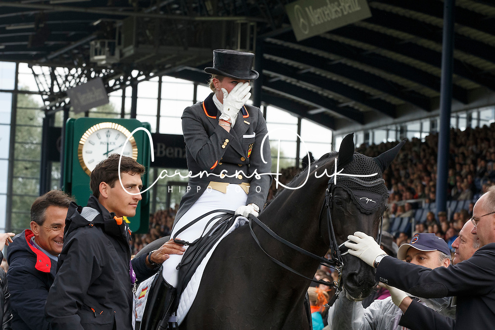 Barbancon Mestre Morgan, (ESP), Painted Black<br /> Grand Prix Kur<br /> European Championships - Aachen 2015<br /> &copy; Hippo Foto - Dirk Caremans<br /> 16/08/15