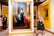 5-10-2016 APELDOORN - Queen Maxima opens Wednesday October 5 at Het Loo Palace Museum exhibition Anna Pavlovna, colorful queen. This year marks the two hundredth anniversary of Anna Pavlovna with the future King William II marries and goes to the Netherlands. The exhibition displays many of her valuables, including crockery and meubelen.COPYRIGHT ROBIN UTRECHT<br /> 5-10-2016 APELDOORN - Koningin Maxima opent woensdagochtend 5 oktober in Museum Paleis Het Loo de tentoonstelling Anna Paulowna, kleurrijke koningin. Dit jaar is het tweehonderd jaar geleden dat Anna Paulowna met de latere Koning Willem II trouwt en naar Nederland komt. De expositie toont veel van haar kostbaarheden, waaronder serviezen en meubelen.COPYRIGHT ROBIN UTRECHT