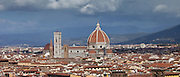 Il Duomo di Firenze, Cathedral of Florence, and Florence city skyline, Tuscany, Italy RESERVED USE - NOT FOR DOWNLOAD - FOR USE CONTACT TIM GRAHAM