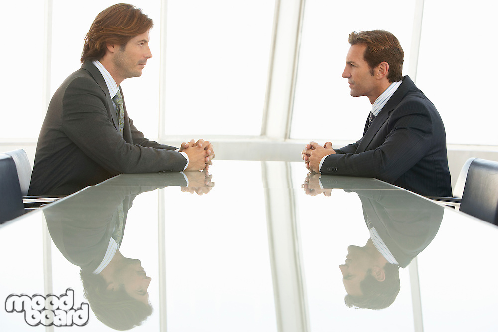 Two Businessmen in Meeting