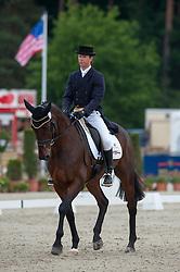 Kevin McNab (AUS) - Clifton Pinot <br /> Dressage - CCI4* Luhmühlen 2012<br /> © Hippo Foto - Jon Stroud