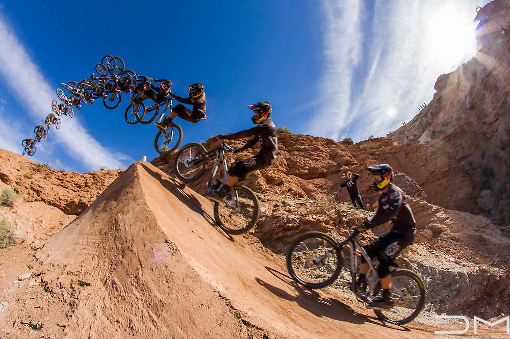 Brandon Semenuk, winner of Red Bull Rampage 2016