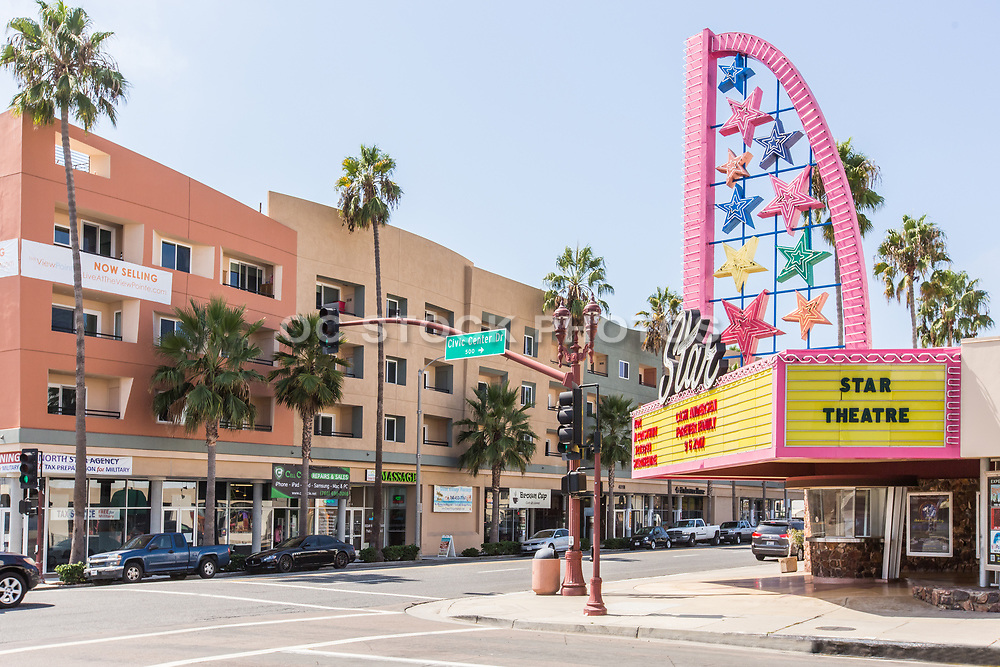 Star Movie Theater Downtown Oceanside