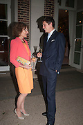 SARA AGNEW; JAKE WARREN, The Cartier Chelsea Flower show dinner. Hurlingham club, London. 20 May 2013.