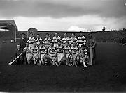 20/10/1957<br /> 10/20/1957<br /> 20 October 1957<br /> Oireachtas Final: Kilkenny v Waterford at Croke Park, Dublin. Waterford Team.