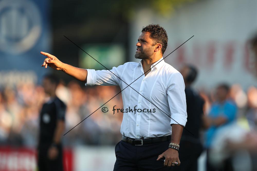 27.08.2016; Schaffhausen; Fussball Challenge League - FC Schaffhausen - FC Zuerich; Trainer Uli Forte (Zuerich) (David Kuendig/freshfocus)