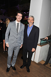 Left to right, JOSHUA HILL and DAMON HILL at the Motor Sport magazine's 2013 Hall of Fame awards at The Royal Opera House, London on 25th February 2013.