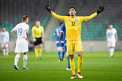 Kostas Panayi of Cyprus during football match between National Teams of Slovenia and Cyprus in Final Tournament of UEFA Nations League 2019, on October 16, 2018 in SRC Stozice, Ljubljana, Slovenia. Photo by Urban Urbanc / Sportida