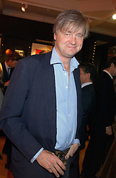The MARQUESS OF WORCESTER at a 2nd party to celebrate the opening on Sac Freres at 7 Grafton Street, London W1 on 3rd November 2005.<br />