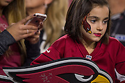 Cardinals Fan<br /> NFL Divisional Playoffs: Green Bay Packers vs Arizona Cardinals<br /> NFL Divisional Playoffs: Green Bay Packers vs Arizona Cardinals<br /> University of Phoenix Stadium/Glendale, AZ <br /> 01/16/2016<br /> SI-181 TK1<br /> Credit: John W. McDonough
