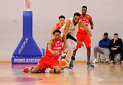 Bristol Flyers' Bree Perine battles for the ball  - Photo mandatory by-line: Joe Meredith/JMP - Mobile: 07966 386802 - 18/04/2015 - SPORT - Basketball - Bristol - SGS Wise Campus - Bristol Flyers v Leeds Force - British Basketball League