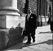 Paul Singer attends Bankruptcy Court..18.07.1961