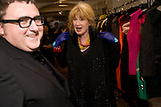 ALBER ELBAZ; JUDITH WATTS, The Launch of the Lanvin store on Mount St. Presentation and cocktails.  London. 26 March 2009