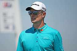 June 16, 2018 - Southampton, NY, USA - Justin Rose leaves the 1st tee during the third round of the 2018 U.S. Open at Shinnecock Hills Country Club in Southampton, N.Y., on Saturday, June 16, 2018. (Credit Image: © Brian Ciancio/TNS via ZUMA Wire)