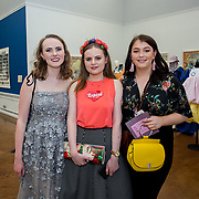 """18.05.2018.          <br /> More than 500 people attended the flagship event of the inaugural Unwrap LSAD Fashion Festival in Limerick.<br /> <br /> Pictured at the event were, Isabel Gray, Imogen B. Gray and Aoibheann O'Meara.<br /> <br /> The Limerick School of Art & Design, LIT, Fashion Design Graduate Exhibition and launch of the """"The Fashion Film"""" at Limerick City Gallery of Art, in partnership with EVA International, attracted hundreds of people from the world of fashion. <br /> <br /> A total of 27 fashion graduates presented their designs alongside the specially commissioned film by fashion stylist and creative director Kieran Kilgallon and videographer Albert Hooi. Picture: Alan Place"""