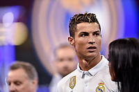 Cristiano Ronaldo of Real Madrid during the UEFA Champions League Final match between Real Madrid and Juventus at the National Stadium of Wales, Cardiff, Wales on 3 June 2017. Photo by Giuseppe Maffia.<br /> <br /> Giuseppe Maffia/UK Sports Pics Ltd/Alterphotos