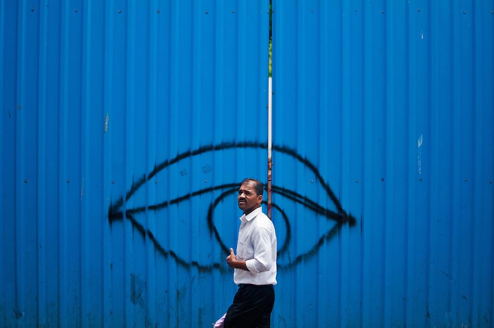 Street art on Chapel Road.