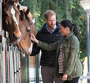 Meghan Markle & Harry Visit Equestrian Sports2
