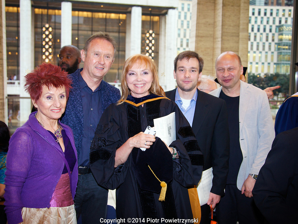 Malgorzata Powietrzynska Graduation<br />