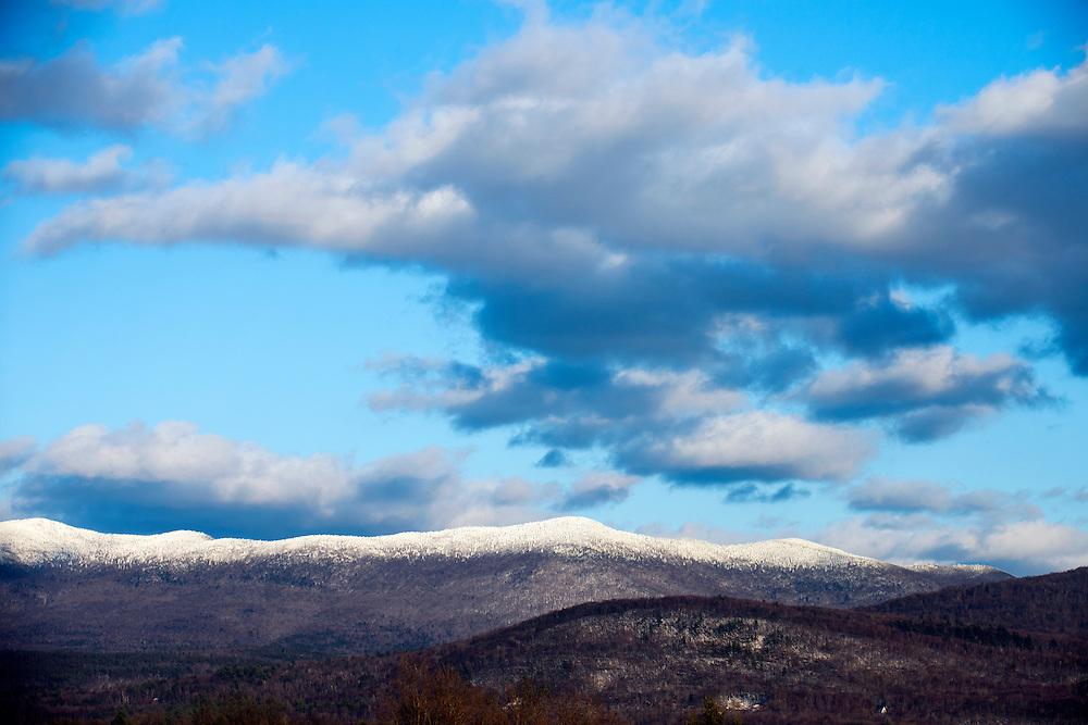 Winter in Brandon, Vermont