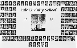 1998 Yale Divinity School Senior Portrait Class Group Photograph