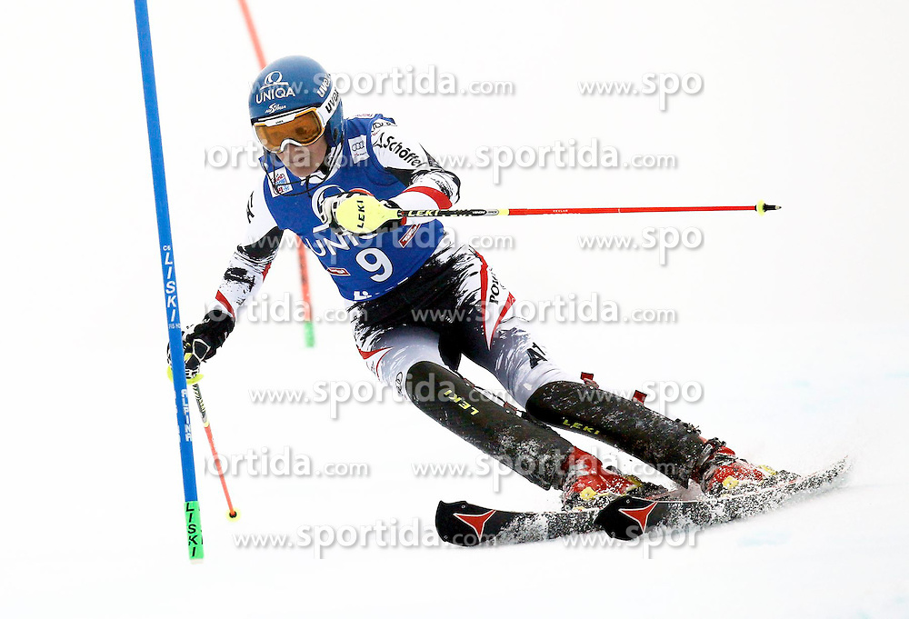 29.12.2013, Hochstein, Lienz, AUT, FIS Weltcup Ski Alpin, Damen, Slalom 2. Durchgang, im Bild Marlies Schild (AUT) // Marlies Schild of (AUT) during ladies Slalom 2nd run of FIS Ski Alpine Worldcup at Hochstein in Lienz, Austria on 2013/12/29. EXPA Pictures © 2013, PhotoCredit: EXPA/ Oskar Höher
