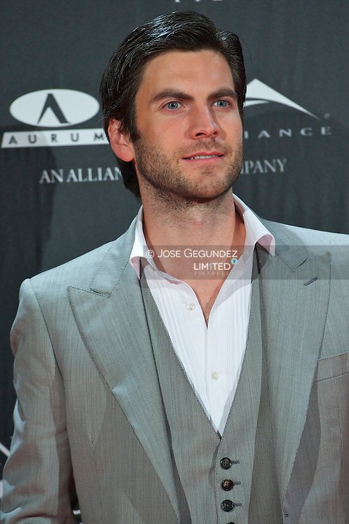Wes Bentley attends the Premiere of 'There be dragons' at Capitol Cinema in Madrid