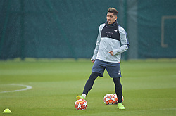 LIVERPOOL, ENGLAND - Tuesday, April 16, 2019: Liverpool's Roberto Firmino during a training session at Melwood Training Ground ahead of the UEFA Champions League Quarter-Final 2nd Leg match between FC Porto and Liverpool FC. (Pic by Laura Malkin/Propaganda)
