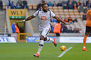 Derby County striker Darren Bent (11) scores a goal 0-2  during the EFL Sky Bet Championship match between Wolverhampton Wanderers and Derby County at Molineux, Wolverhampton, England on 5 November 2016. Photo by Alan Franklin.