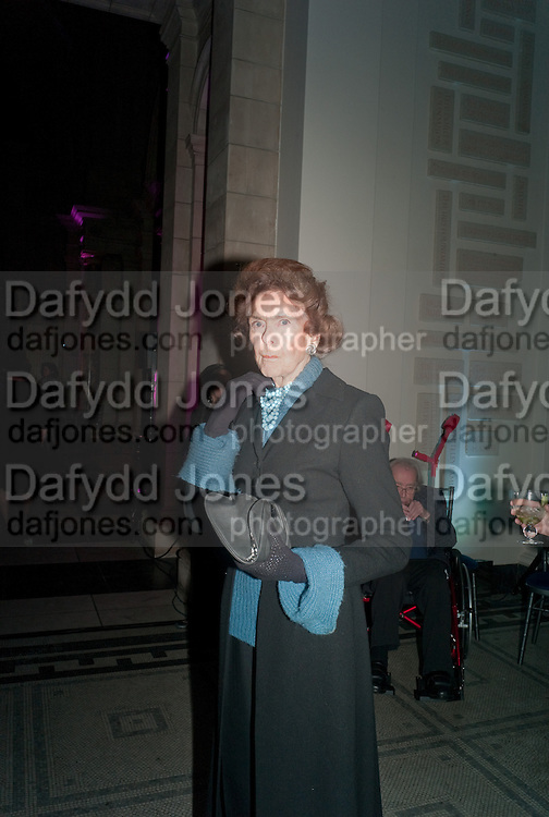 LADY PAMELA EGREMONT, Cecil Beaton private view. V and A Museum. London. 6 February 2012