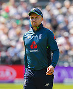 Jason Roy of England during the third Royal London One Day International match between England and Pakistan at the Bristol County Ground, Bristol, United Kingdom on 14 May 2019.