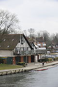 Maidenhead, GREAT BRITAIN, General views on the River Thames,  Boathouses, Maidenhead Rowing Club. Sun  24/02/2008  2008. [Mandatory Credit, Peter Spurrier/Intersport-images] Upper Thames, Maidenhead