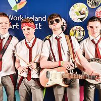 Keagan Forde, Michael Glynn, Evan Forde & Dylan Crean from Galway.