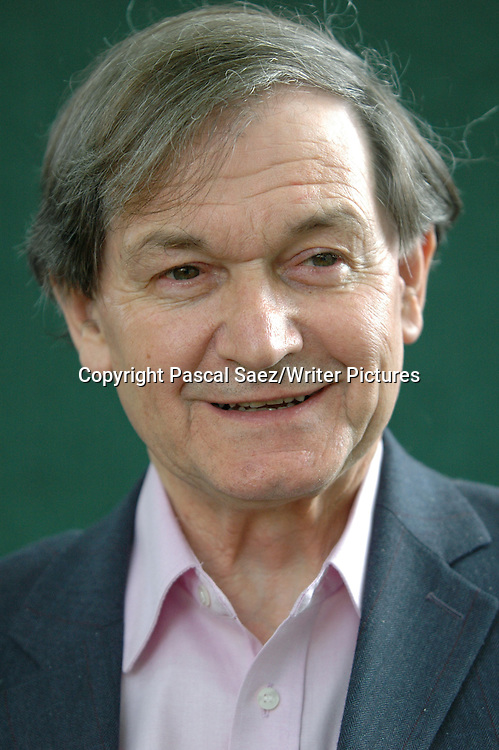 British writer and scientist Roger Penrose, author of &quot;The Road To Reality: A Complete Guide To The Laws Of The Universe&quot; at the Edinburgh International Book Festival.<br /> <br /> Copyright Pascal Saez/Writer Pictures<br /> <br /> contact +44 (0)20 8241 0039<br /> sales@writerpictures.com<br /> www.writerpictures.com