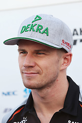 Nico Hulkenberg (GER) Sahara Force India F1 with the media.<br /> <br />  beim GP von Japan 2016 in Suzuka / 060916<br /> <br /> ***Formula One Grand Prix of Japan on October 6, 2016 in Suzuka.***