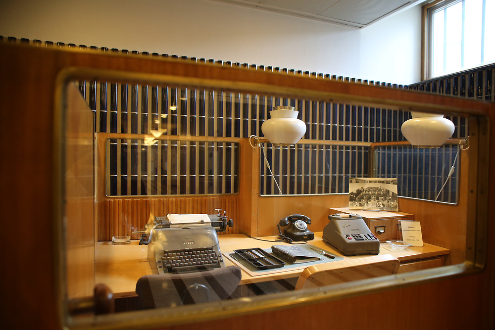 Mini-musée en hommage au fameux architecte finlandais Alvar Aalto, qui a réalisé les locaux de Kela, Helsinki