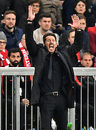 Diego Simeone, head coach of Atletico Madrid during the UEFA Champions League match at Allianz Arena, Munich<br /> Picture by EXPA Pictures/Focus Images Ltd 07814482222<br /> 03/05/2016<br /> ***UK &amp; IRELAND ONLY***<br /> EXPA-EIB-160503-0061.jpg