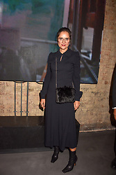 Suzy Murphy at a VIP private view of 21st Century Women held at Unit London, Hanover Square, London England. 03 October 2018.