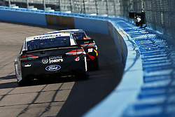 March 11, 2018 - Avondale, Arizona, United States of America - March 11, 2018 - Avondale, Arizona, USA: Trevor Bayne (6) brings his car down the backstretch during the Ticket Guardian 500(k) at ISM Raceway in Avondale, Arizona. (Credit Image: © Chris Owens Asp Inc/ASP via ZUMA Wire)