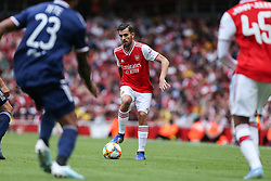 Dani Ceballos of Arsenal on the ball - Mandatory by-line: Arron Gent/JMP - 28/07/2019 - FOOTBALL - Emirates Stadium - London, England - Arsenal v Olympique Lyonnais - Emirates Cup
