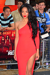 Red 2 UK film premiere.<br /> Sarah Jane Crawford during the premiere of the sequel to 2010's graphic novel adaption, about a group of retired assassins. <br /> Empire Leicester Square<br /> London, United Kingdom<br /> Monday, 22nd July 2013<br /> Picture by Nils Jorgensen / i-Images