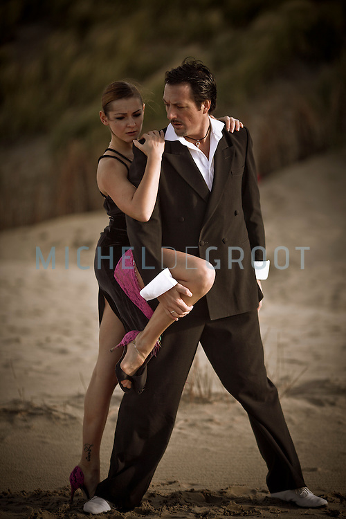 Tango on the Texel beach