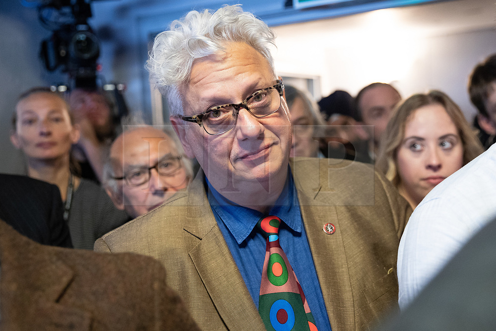 © Licensed to London News Pictures . 23/09/2018. Liverpool, UK. JON LANSMAN at a rally by The Jewish Labour Movement at The Liverpool Pub in central Liverpool during the first day of the 2018 Labour Party Conference . Photo credit: Joel Goodman/LNP