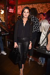 Roxie Nafousi at the Maybelline New York Bring on The Night party hosted by Adriana Lima & Jourdan Dunn at Scotch of St.James, 13 Masons Yard, England. 18 February 2017.