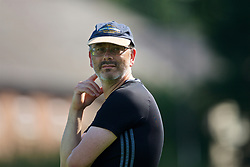 WREXHAM, WALES - Monday, July 22, 2019: Wales North coach Paul Inns during the Welsh Football Trust Cymru Cup 2019 at Colliers Park. (Pic by Paul Greenwood/Propaganda)