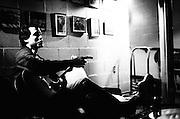 BIRMINGHAM, AL – DECEMBER, 2007: Indie rock musicians.
