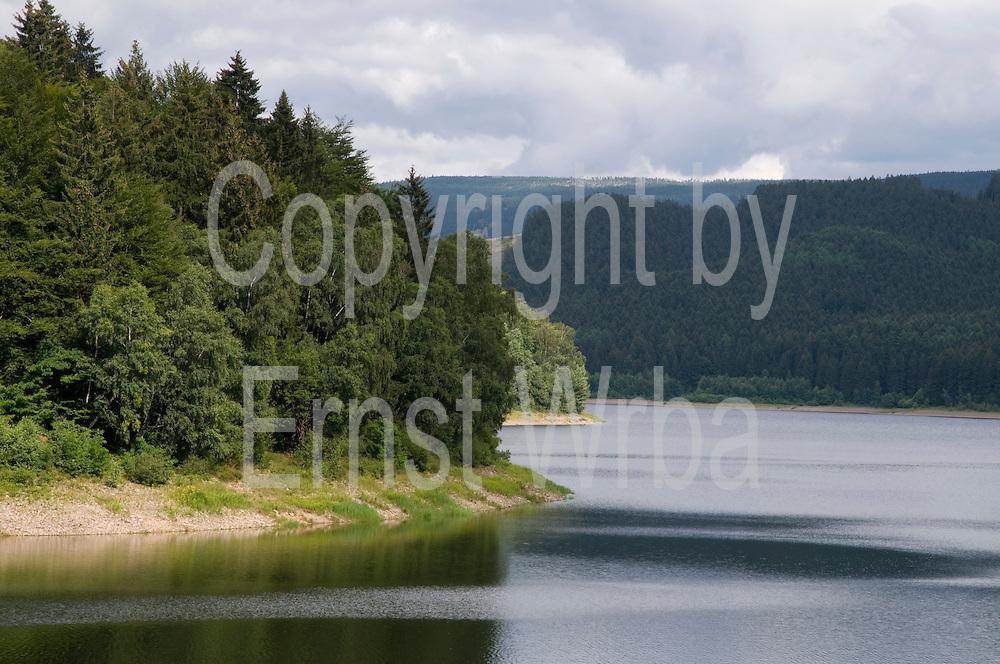 Talsperre Sösestausee bei Osterode, Harz, Niedersachsen, Deutschland | Söse Reservoir near Osterode, Harz, Lower Saxony, Germany